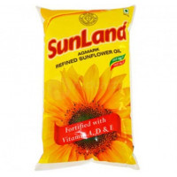 Sunland Refined Sunflower Oil 1litre