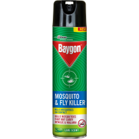 Baygon Mosquito & Fly Killer Lime Scent, 400ml