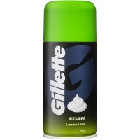 Gillette Shaving Foam Lime, 196g