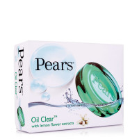 Pears Oil Clear & Glow  Green Soap,  75g