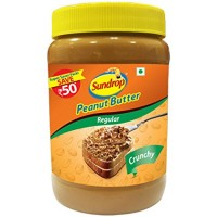 Sundrop Peanut Butter Regular Crunchy 500gm