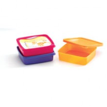 Mastercook Square Containers, 3 pcs Set