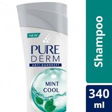 Pure Derm Mint Cool Anti - Dandruff Shampoo, 180ml
