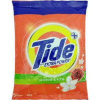 Tide Extra Power+ Jasmine & Rose Detergent Powder,  500g
