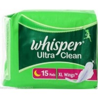 Whisper Ultra Clean XL+ Wings 15 Pads
