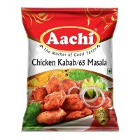 Aachi Masala - Chicken Kabab / Chicken 65, 50 gm Pouch