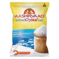 Aashirvaad Iodized Crystal Salt, 1Kg