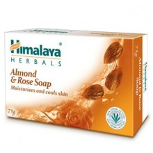 Himalaya Almond & Rose Soap,  125g