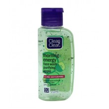 Clean & Clear,Morning Energy, Apple Face Wash, 50ml