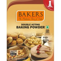 BAKERS Double Acting Baking Powder 100g