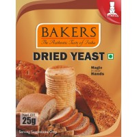 BAKERS Dried Yeast 25g