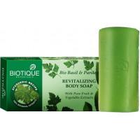 Biotique Basil & Parsley Revitalizing Body Soap, 150g