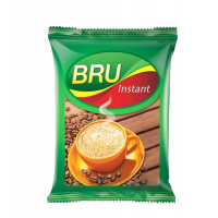 Bru Instant Coffee Powder Sachet, Rs 5 - Pack of 16