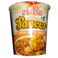 Nissin Cup Noodles - Paneer Butter Masala, 70 gm Cup