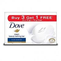 Dove Cream Beauty Bathing Bar, Buy 3 Get 1 Free