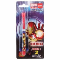 Cello Iron Man Fountain Pen 1N(Pen) + 2N(cartridges) + FREE 1N Magnet