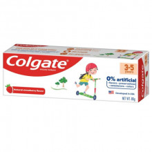 Colgate Toothpaste For Kids( 3-5yrs) Natural Strawberry Flavour, 80g