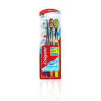 Colgate 360 Whole Mouth Clean Medium Brush, Buy 2 Get 1 Free