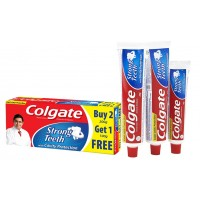 Colgate Strong Teeth ToothPaste, 300g - Super Saver Pack