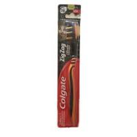 Colgate ZigZag Tooth Brush, Black, Medium