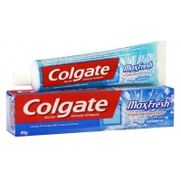 Colgate Max Fresh Blue Gel Tooth Paste, 80g