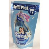 Comfort Fabric Conditioner Blue, Refill Pouch, 120ml