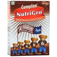 Complan Nutrigro Chocolate Flavour 2-6yrs, 400g