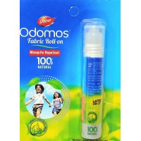 Odomos Natural Fabric Roll On, 8ml