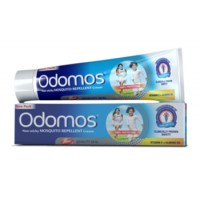 Odomos Mosquito Repellent Cream with vitamin E and Almond Oil 50g