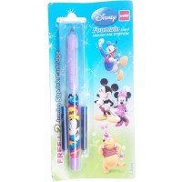 Cello Disney Fountain Pen + FREE 2N Ink Cartridges