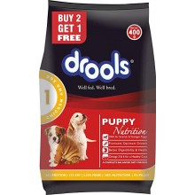 Drools Dog Food Puppy Nutrition, 400g Buy 2 Get 1 Free