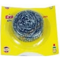 Exo  Stainless Steel Dishwash  Scrubber, 1pc