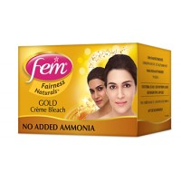 Fem Fairness Naturals Gold Skin Bleach, 8 gm