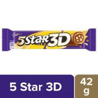 Cadbury 5 Star - 3D Chocolate Bar, 42g