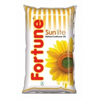 Fortune Refined Sunflower Oil, 1ltr