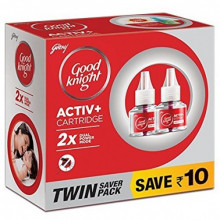 Good Knight Advanced Twin Saver Pack - Save Rs 10