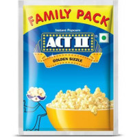 Act II Golden Sizzle Popcorn Family Pack, 90g