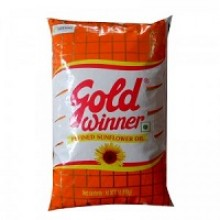 Gold Winner Refined Sunflower Oil, 1litre