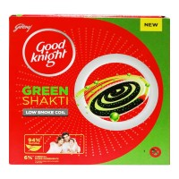 Good Night Green Shakti Low Smoke Coil – 10N