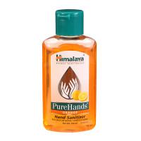 Himalaya Herbals Pure Hands Hand Sanitizer,Orange, 100ml