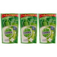 Dettol Handwash skincarel Refill, 175ml - Buy 2 and Get 1 Free