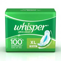Whisper, Ultra Clean XL, 8Pads