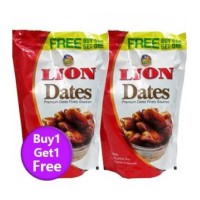 Lion Dates Seeded, 250gm (Buy 1 Get 1 Free)