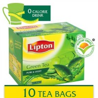 Lipton Green Tea Pure & Light 10 Bags