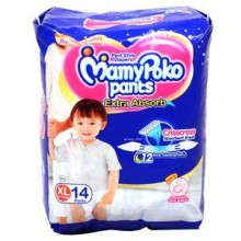 Mamypoko Pants Style Diapers - Xl, 12-17 Kg, 14 pcs Pouch