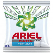 Ariel Top Load Matic Detergent Powder, 500g