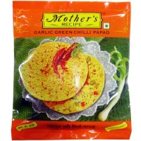 Mother's Garlic Green Chilli Papad, 200g