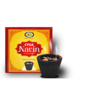 Cycle Brand Navin Cup  Sambrani With Resin, 12cups
