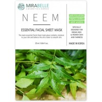 Mirabelle Neem Facial Sheet Mask, 1Nos