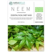 Mirabelle Neem Facial Sheet Mask, 1Nos